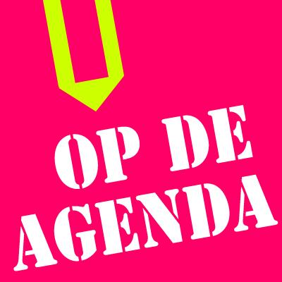 op de agenda